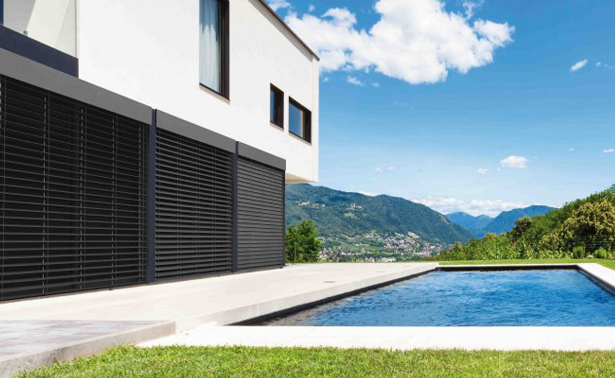 brise soleil orientable. Black Bedroom Furniture Sets. Home Design Ideas